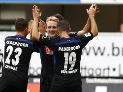 Der SC Paderborn fuhr im Auswärtsspiel in Erfurt den nächsten Dreier ein