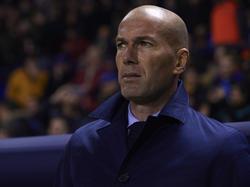 Zidane no quiere pensar aún en la Liga de Campeones. (Foto: Getty)