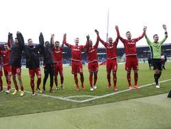 Der 1.FC Kaiserslautern hat den Abstand auf die rettenden Plätze auf vier Punkte verkürzt