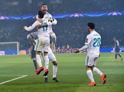 El Real Madrid se defendía bien y buscaba hacer daño al contraataque en París. (Foto: Getty)