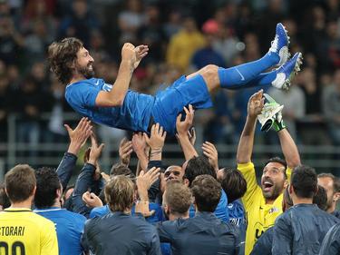 Internacional con Italia en 116 ocasiones, Pirlo ganó el Mundial de 2006. (Foto: Getty)