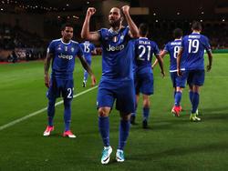 Gonzalo Higuaín war der umjubelte Mann bei Juventus Turin