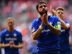 Traurig, aber nicht niedergeschlagen: Aytaç Sulu und Co. sind mit Darmstadt 98 abgestiegen