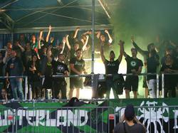 Begeisterung bei den Fans von Wacker Innsbruck