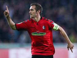 Julian Schuster erzielte beim Pokal-Erfolg gegen Dresden eine Treffer