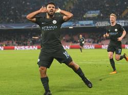 Sergio Agüero könnte seine Zelte in Manchester bald abrechen