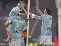 Celtas Offensive um John Guidetti (l.) und Iago Aspas (r.) fliegt durch die Europa League!