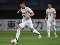 Lukas Podolski verlor mit Vissel Kobe in der J-League
