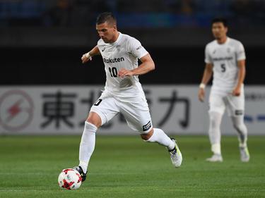 Zur kommenden Saison wird Lukas Podolski bei Vissel Kobe Teamkapitän