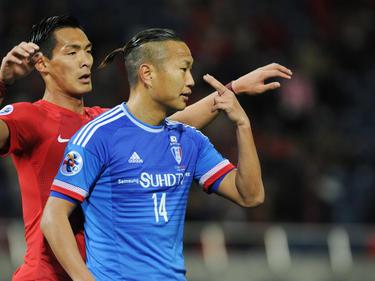 Jong Tae-se stürmt in der AFC Champions League für die Suwon Bluewings.