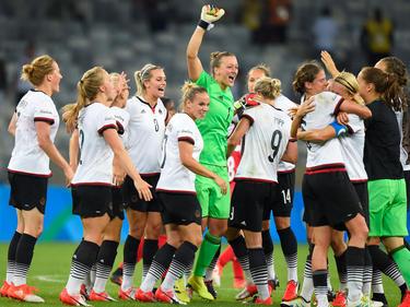 Alemania celebra la clasificación para la final de los Juegos de Río. (Foto: Getty)