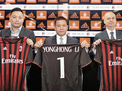 Milan-Besitzer Li Yonghong dementiert Pleite-Gerüchte