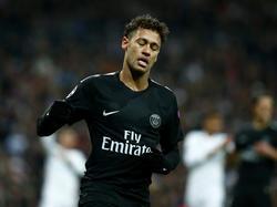 PSG-Angreifer Neymar hält große Stücke von Trainer Pep Guardiola