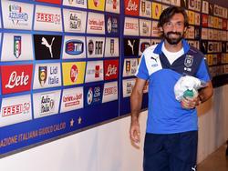Andrea Pirlo spielte 13 Jahre für die italienische Nationalmannschaft