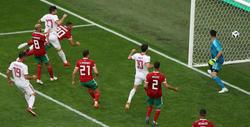 Irán disfrutó de varias ocasiones hasta el desenlace final en el descuento. (Foto: Getty)