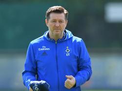 Christian Titz hat sich zur Lage beim Hamburger SV geäußert
