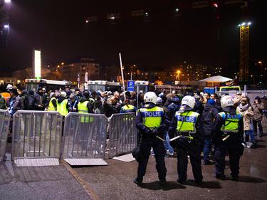 Beim Derby in Stockholm zwischen AIK Solna und Djurgårdens IF herrscht stets höchste Alarmstufe