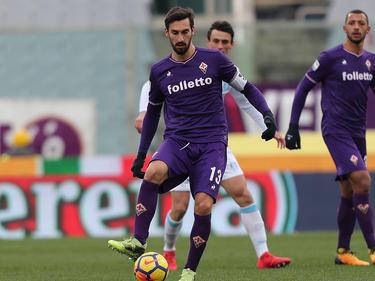 Astori en uno de sus últimos encuentros con la Fiorentina. (Foto: Getty)