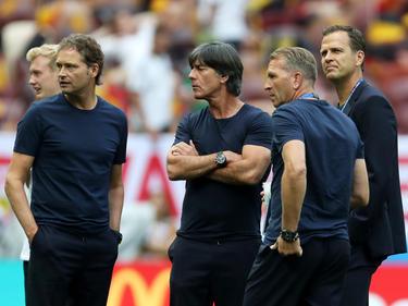 Sorgenfalten nach dem WM-Fehlstart:Team-Manager Oliver Bierhoff