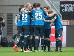 Hoffenheim surft aktuell auf der Welle des Erfolges