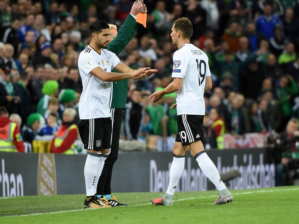 Emre Can und Leon Goretzka stehen auf der Wunschliste von Juventus