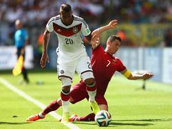 Klarer Punktsieger gegen Ronaldo: Jerome Boateng