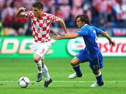 Ognjen Vukojević durfte sich unter anderem auch mit Andrea Pirlo messen