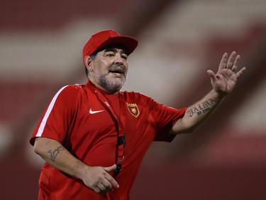 Diego Maradona ist seit Mai 2017 in Dubai als Trainer aktiv