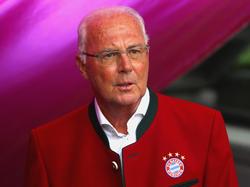 Fußballlegende Franz Beckenbauer bleibt optimistisch