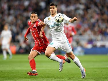 Marco Asensio (re.) steht noch bei Real Madrid unter Vertrag