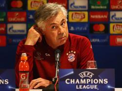 FCB-Coach Carlo Ancelotti bereitet seine Bayern auf Rostov vor