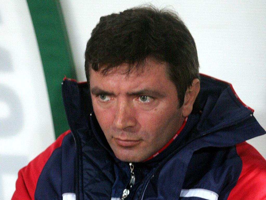 Ein seltenes Erfolgserlebnis für Teamchef Igor Dobrovolskiy