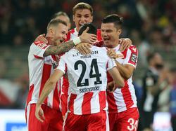 Die Berliner drehten das Spiel gegen Düsseldorf