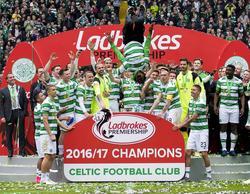 Celtic hat sich den schottischen Meistertitel ohne Pleite geholt