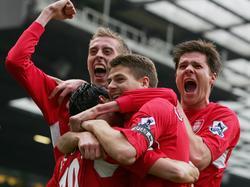 Peter Crouch und Xabi Alonso spielten einst gemeinsam für Liverpool