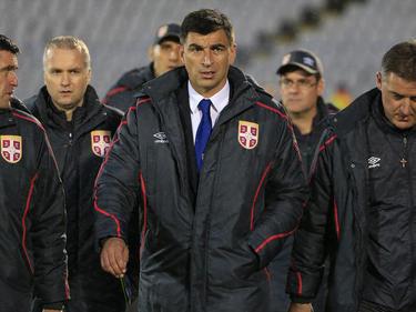 Radovan Ćurčić (M.) ist nicht mehr länger serbischer Nationaltrainer