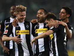 Borussia Mönchengladbach feiert einen klaren Sieg gegen den VfL Wolfsburg