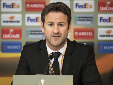 Thomas Christiansen en rueda de prensa. (Foto: Getty)
