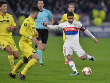 Nabil Fekir fue un constante peligro para la defensa del Villarreal. (Foto: Imago)