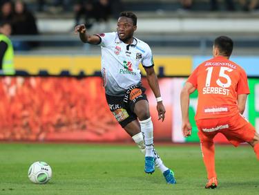 Issiaka Ouédraogo traf im Nachtragsspiel zwar nicht, durfte sich trotzdem aber über einen Sieg seines WAC freuen