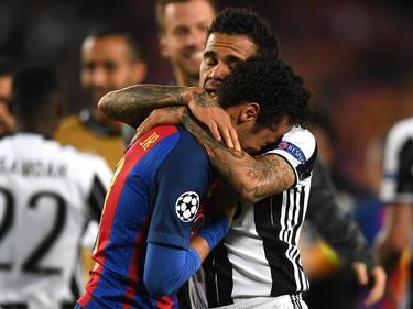 Neymar und Dani Alves verbindet eine enge Freundschaft