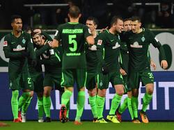 Die Bremer feierten gegen Hannover zuletzt ihren ersten Saisonsieg
