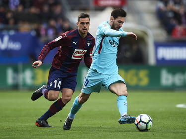 Messi volvió a erigirse como el salvador del FC Barcelona. (Foto: Getty)