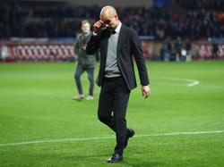 Guardiola se mostró visiblemente decepcionado. (Foto: Getty)