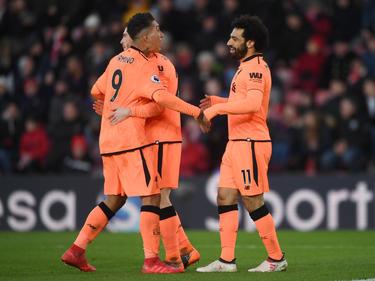 Roberto Firmino und Mohamed Salah sorgten für die Treffer in Southampton