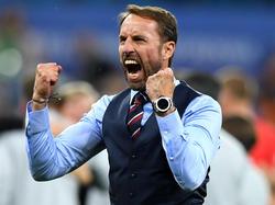 Gareth Southgate ist mit England gut in die WM gestartet