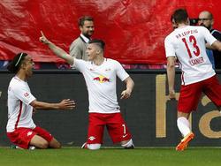Marcel Sabitzer traf zur schnellen 1:0-Führung