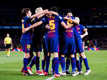 El FC Barcelona no ve peligrar el título por el momento. (Foto: Getty)