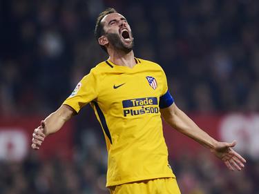 Diego Godín hat im Spiel gegen Valencia mehrere Zähne verloren