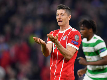 Lewandowski si estuvo en el primer partido ante los escoceses. (Foto: Getty)